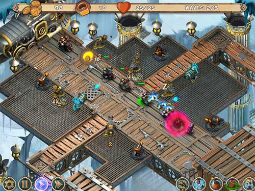 Download Iron heart: Steam tower iPhone free game.