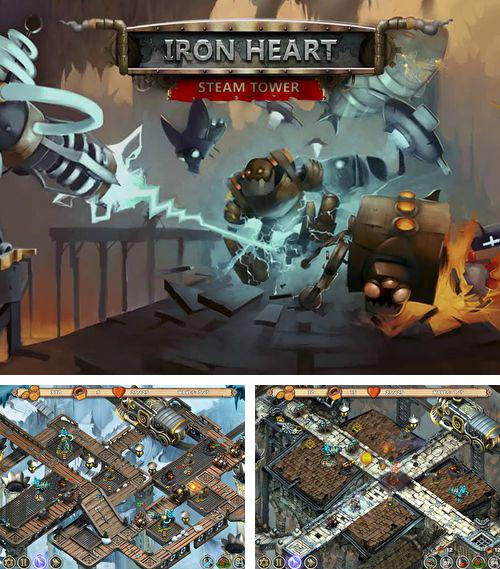In addition to the game 2-bit cowboy for iPhone, iPad or iPod, you can also download Iron heart: Steam tower for free.