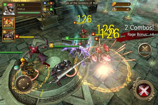 Descarga gratuita de Iron knights para iPhone, iPad y iPod.