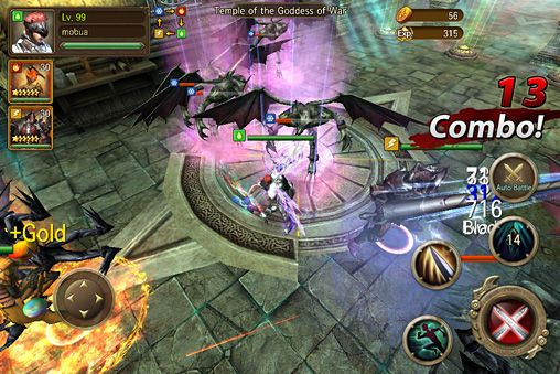 Capturas de pantalla del juego Iron knights para iPhone, iPad o iPod.