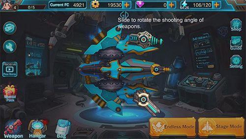 Download Iron mission iPhone free game.