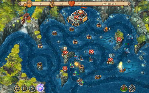 Descarga gratuita de Iron sea: Defenders para iPhone, iPad y iPod.