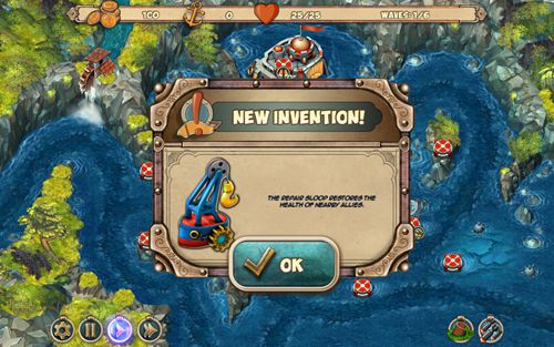 Screenshots vom Spiel Iron sea: Defenders für iPhone, iPad oder iPod.