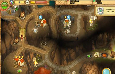 Capturas de pantalla del juego Island Tribe 2 para iPhone, iPad o iPod.