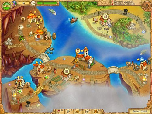 Screenshots of the Island tribe 5 game for iPhone, iPad or iPod.