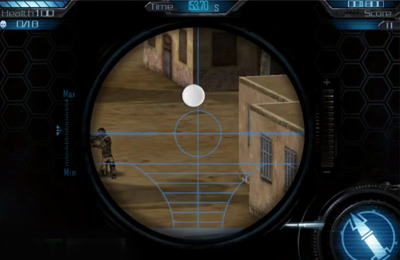 Capturas de pantalla del juego iSniper 3D Arctic Warfare para iPhone, iPad o iPod.