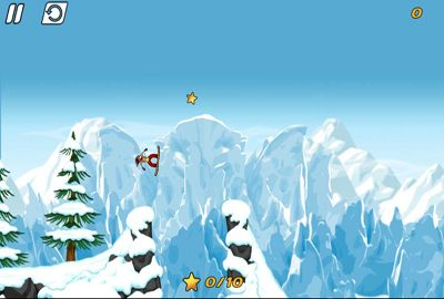 Screenshots of the iStunt 2 - Snowboard game for iPhone, iPad or iPod.