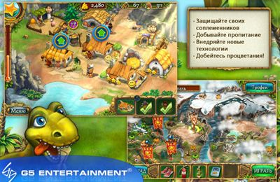 Capturas de pantalla del juego Jack of All Tribes para iPhone, iPad o iPod.