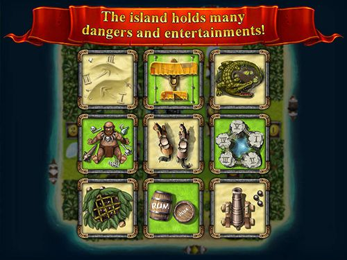 Capturas de pantalla del juego Jackal: Treasure island para iPhone, iPad o iPod.