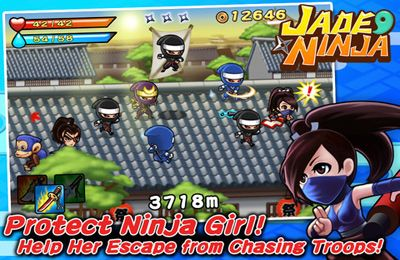 Download Jade Ninja iPhone free game.