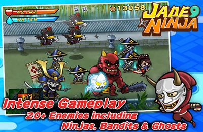 Free Jade Ninja download for iPhone, iPad and iPod.
