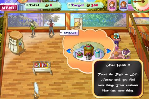 Screenshots of the Jean's boutique 2 game for iPhone, iPad or iPod.