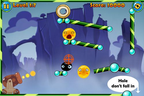 Écrans du jeu Jelly cannon: Reloaded pour iPhone, iPad ou iPod.