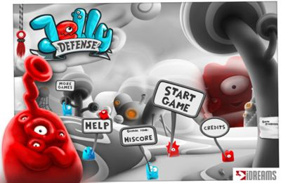 Capturas de pantalla del juego Jelly Defense para iPhone, iPad o iPod.
