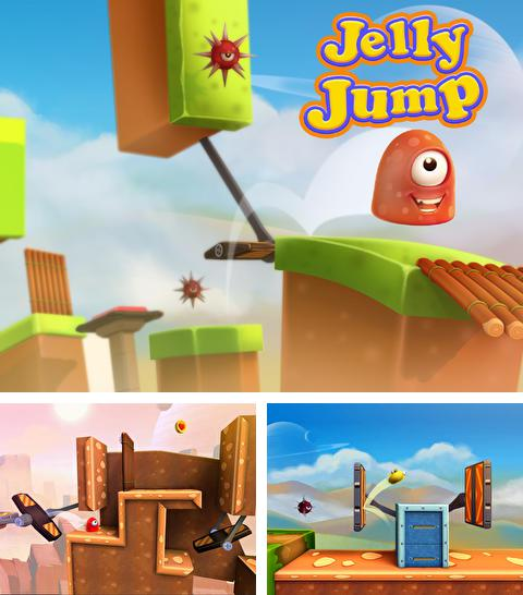 In addition to the game Cookie wars: Cookie run for iPhone, iPad or iPod, you can also download Jelly Jump for free.
