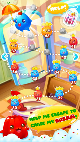 Download Jelly mania iPhone free game.