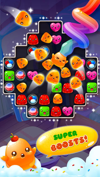 Free Jelly mania download for iPhone, iPad and iPod.