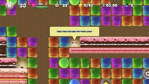 Screenshots of the Jelly mess game for iPhone, iPad or iPod.