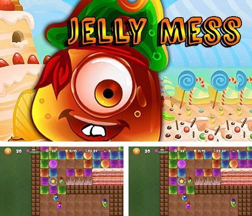 In addition to the game Castle Defense for iPhone, iPad or iPod, you can also download Jelly mess for free.