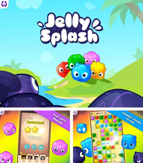 In addition to the game World zombination for iPhone, iPad or iPod, you can also download Jelly Splash for free.