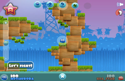 Écrans du jeu Jelly Wars pour iPhone, iPad ou iPod.