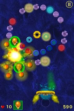 Free Jet Ball download for iPhone, iPad and iPod.