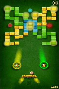 Screenshots of the Jet Ball game for iPhone, iPad or iPod.