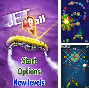 In addition to the game Snow Moto Racing for iPhone, iPad or iPod, you can also download Jet Ball for free.