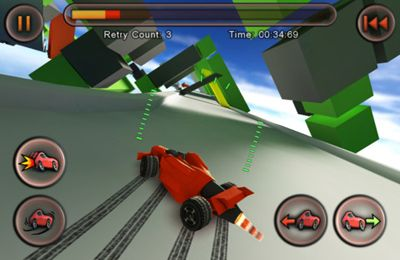 Игра Jet Car Stunts для iPhone
