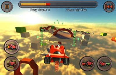 Screenshots of the Jet Car Stunts game for iPhone, iPad or iPod.