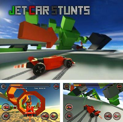 In addition to the game Draw Rider Plus for iPhone, iPad or iPod, you can also download Jet Car Stunts for free.