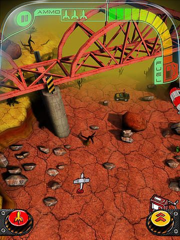Capturas de pantalla del juego Jet raiders para iPhone, iPad o iPod.