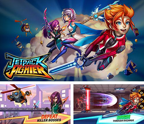In addition to the game Metal Wars 3 for iPhone, iPad or iPod, you can also download Jetpack fighter for free.