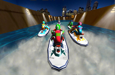 Screenshots of the Jetski Extreme Racing game for iPhone, iPad or iPod.