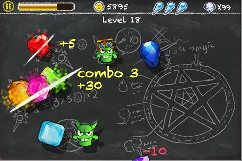 Free Jewel and goblin download for iPhone, iPad and iPod.