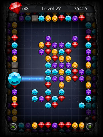 Capturas de pantalla del juego Jewel dash mania para iPhone, iPad o iPod.