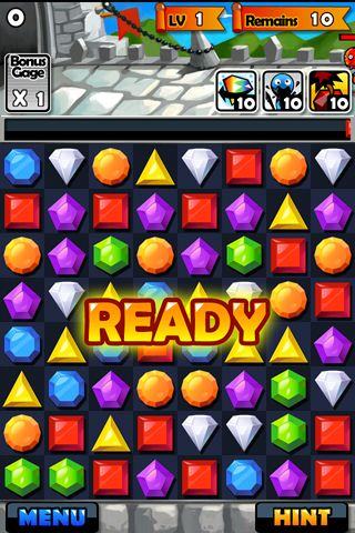 Download Jewel fighter iPhone free game.