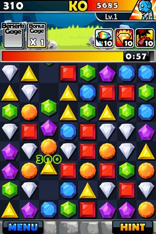 Free Jewel fighter download for iPhone, iPad and iPod.