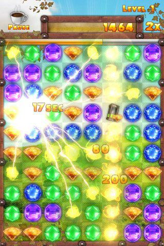 下载免费 iPhone、iPad 和 iPod 版Jewel up。