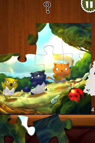 Screenshots of the Jigsaw mansion 2 game for iPhone, iPad or iPod.
