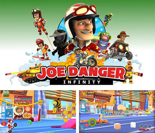 除了 iPhone、iPad 或 iPod 游戏,您还可以免费下载Joe danger: Infinity, 。