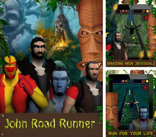 In addition to the game Battle bay for iPhone, iPad or iPod, you can also download John Road Runner for free.
