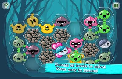 Screenshots vom Spiel Joining Hands 2 für iPhone, iPad oder iPod.