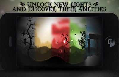 Screenshots of the Journey of Light game for iPhone, iPad or iPod.