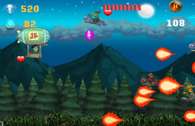 Écrans du jeu Jr's Great Escape - Adventures with FranknSon Monsters pour iPhone, iPad ou iPod.