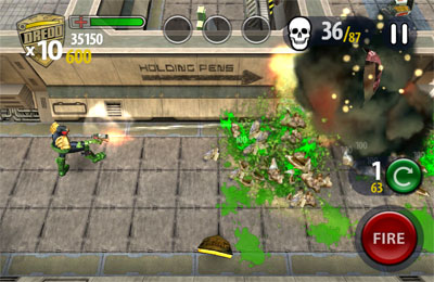 Скачать Judge Dredd vs. Zombies на iPhone бесплатно