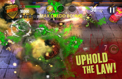 Игра Judge Dredd vs. Zombies для iPhone