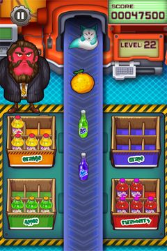 Capturas de pantalla del juego Juice Factory – The Original para iPhone, iPad o iPod.