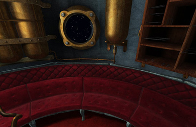 Screenshots vom Spiel Jules Verne's Journey to the center of the Moon – Part 1 für iPhone, iPad oder iPod.