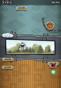 Capturas de pantalla del juego Jump and Fly para iPhone, iPad o iPod.